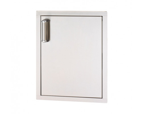 Встраиваемая горизонтальная дверка с левым открытием FireMagic 53924-SC-R