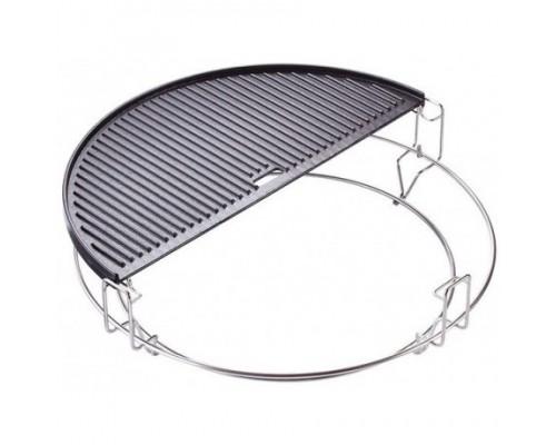 Плита полукруглая двухсторонняя для гриля Big Kamado Joe 20155