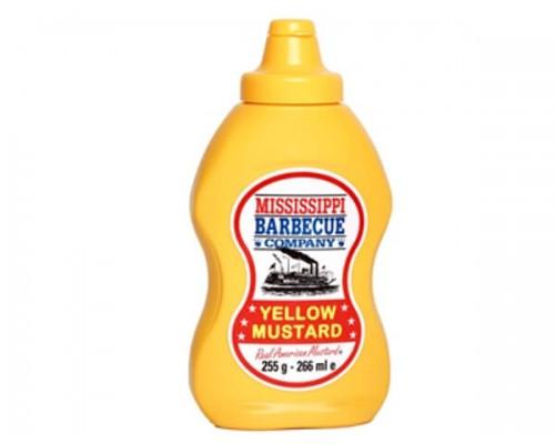 Горчица барбекю Yellow Mustard  MISSISSIPPI 00528