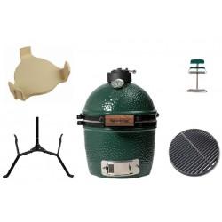 Комплект гриль угольный печь Mini Big Green Egg