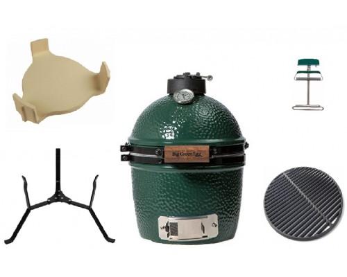 Комплект керамический угольный гриль Mini Big Green Egg