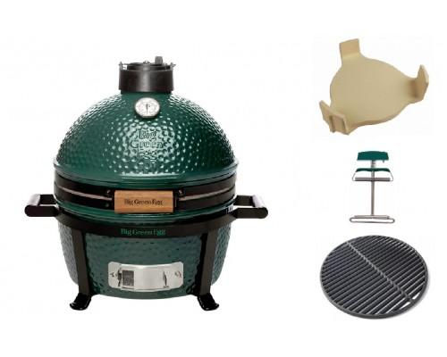Комплект керамический угольный гриль MiniMax Big Green Egg
