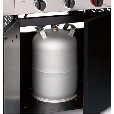 Гриль газовый Kansas Black 3 K Turbo Enders 8735