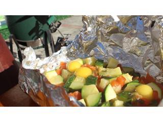 Цуккини и помидоры на гриле. Рецепты для гриля.