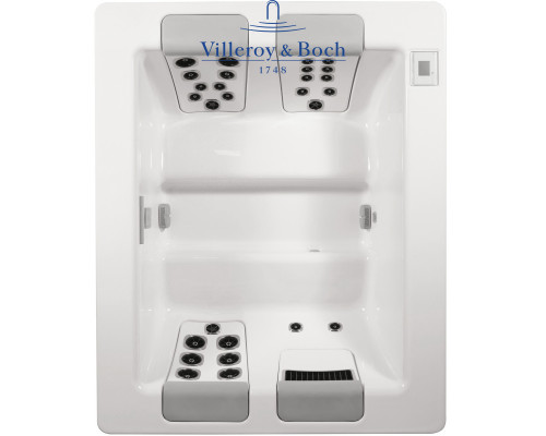 Гидромассажный СПА бассейн ТМ Villeroy & Boch, Design Line Silence Compact